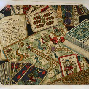 Gaming - gambling - playing cards placemats